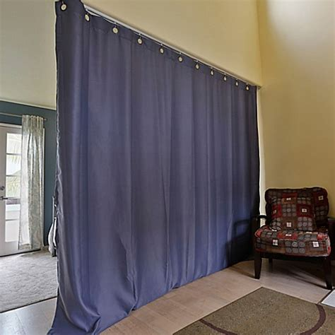 Roomdividersnow Ceiling Track Room Divider Kit With 8 Foot Room Dividing Curtains