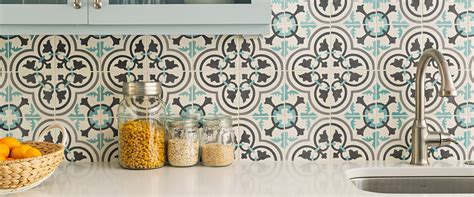 Tiles And Backsplash For Kitchens cement tiles and concrete tiles cement tile shop