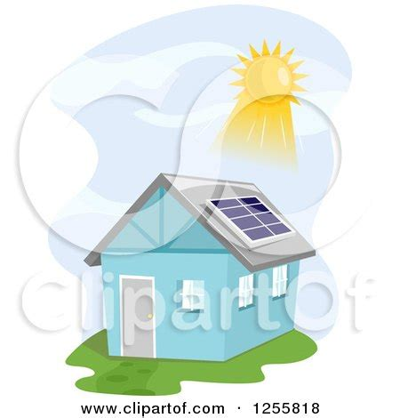 solar panel dog house cartoon house with solar panel royalty free stock vector art dog breeds picture