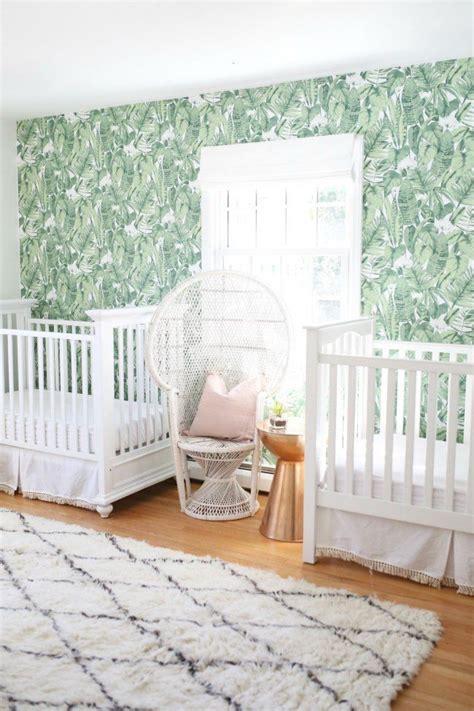 decoracion habitacion bebes mellizos habitaci 243 n de estilo tropical para dos home pinterest