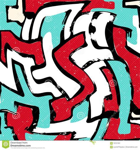 abstract graffiti pattern beautiful abstract graffiti gentle pattern stock vector