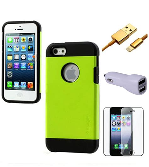 Apple Iphone 5 5s Dual Tough Armor Xphase Army Edt fuson premium protective dual layer tough armor cover for apple iphone 5 5g 5s green 2