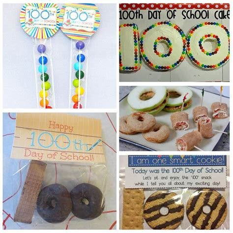 day snacks the ultimate list of ideas for celebrating 100 days of school