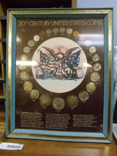 20th Century Coins Framed by United States 20th Century Coins Framed Collectors Pack