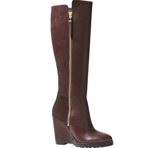 Michael Kors Clara 023 michael kors clara wedge boots shoes apparel shop the exchange