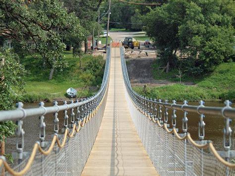 souris swinging bridge souris swinging bridge