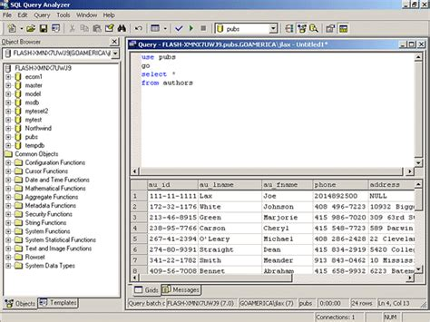 sql query analyser tutorial oracle basics querying an oracle database