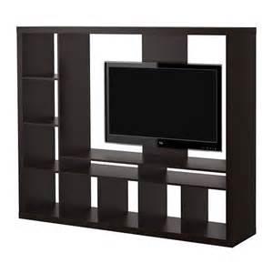 new ikea tv stand entertainment center black brown hemnes