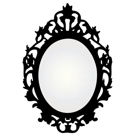 black and white mirror mirror with ornate frame free stock photo domain