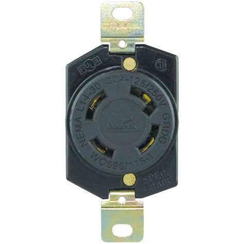 colored outlets eaton 30 125 250 volt hart lock industrial grade