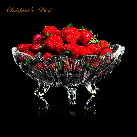 best kitchenware pro quality fruit bowl with three apple dish glass