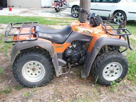 2001 Suzuki Quadrunner 500 1999 Suzuki Quadrunner 500 2 000 Firm 100060838