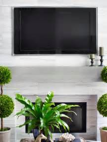 Hgtv Home Decorating Shows installing a tv above the fireplace hgtv