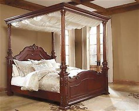 Where To Sell Used Bedroom Furniture King Canopy Bed Ebay