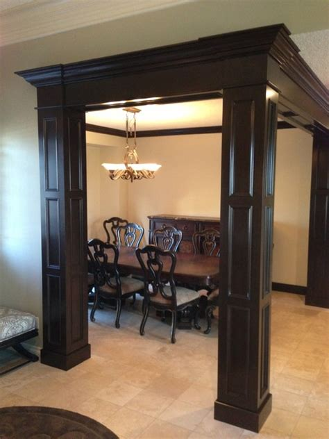 Dining Room Columns by Meyer Dining Room Columns Traditional Dining Room