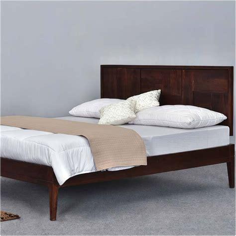 modern pioneer solid wood california king size platform