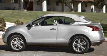 Convertible Nissan Suv Want A Convertible Suv Nissan S Murano Crosscabriolet Now