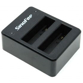 Sinofer Dual Battery Charger For Gopro 4 Berkualitas sinofer dual battery charger for gopro 4 black