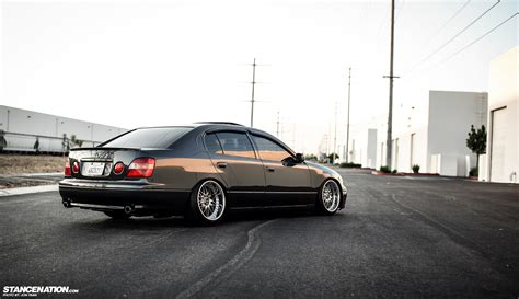 stanced lexus gs300 phantom garage usa inifniti m35 lexus gs300
