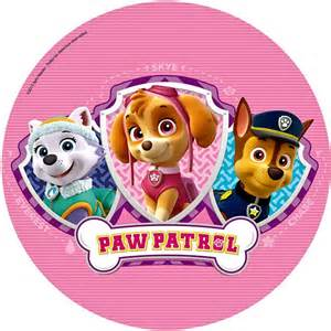 cialda per torta paw patrol a 4 49 decorazioniperdolci it