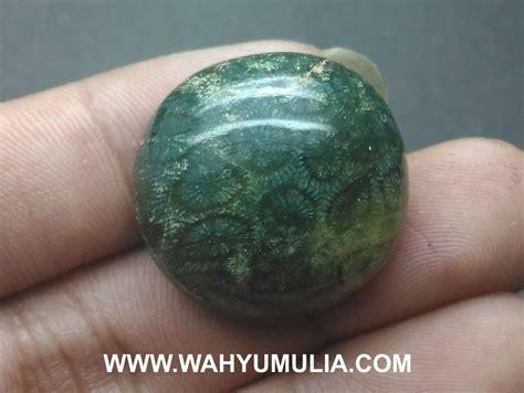 Teratai Tembus batu akik teratai hijau langka asli kode 568 wahyu mulia