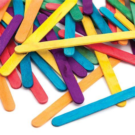 craft 1000images assorted wooden craft sticks 50 pack hobbycraft