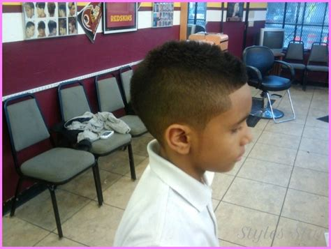 little boy fade with curls on top black mohawk fade haircut stylesstar com