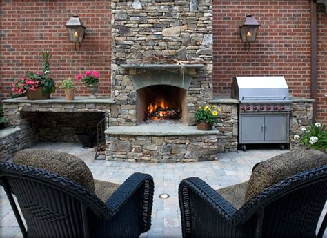 combination outdoor fireplace and grill fireplace grill combo outdoor to do