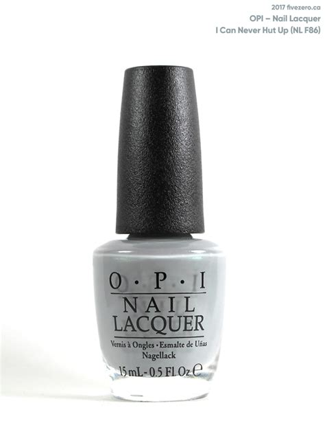 opi nail lacquer opi i can never hut up nail lacquer swatch review