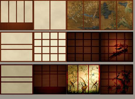 second life marketplace japanese walls and shoji screens by furniture passion