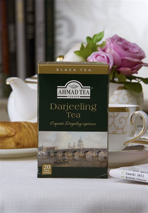Ahmad Tea Darjeeling Tea 20bks try darjeeling tea our chagne of teas ahmad tea uk