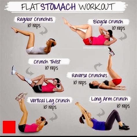 flat stomach work out dailycelebz