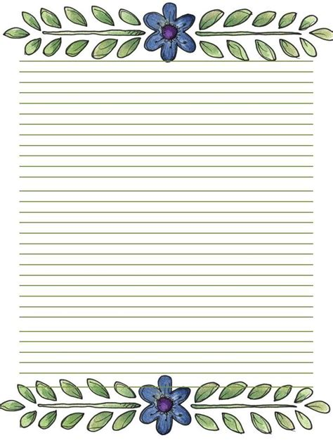 Free Printable Journal Pages Lined | 59 best stationery printable images on pinterest writing
