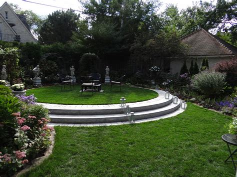 landscape ideas for backyard formal backyard seating area traditional landscape