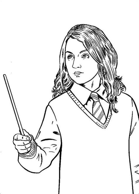 harry potter coloring book wands holding a magic wand harry potter coloring pages