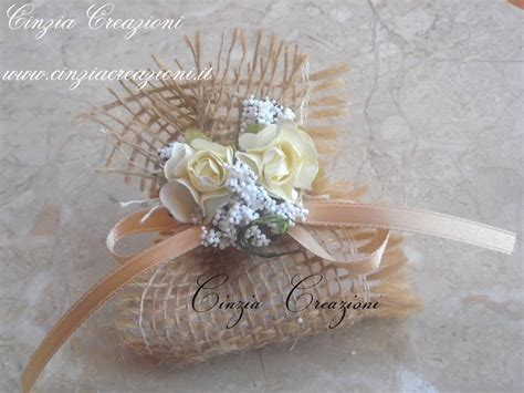 fiori portaconfetti matrimonio porta confetti matrimonio juta roselline