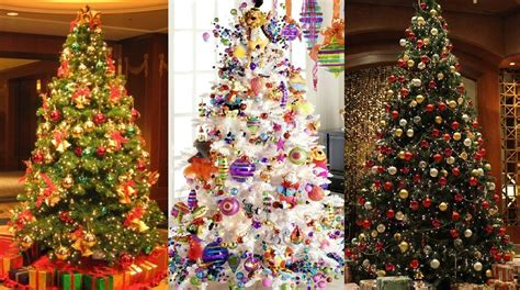 christmas decoration ideas 2016 top 10 best christmas tree decoration ideas trends
