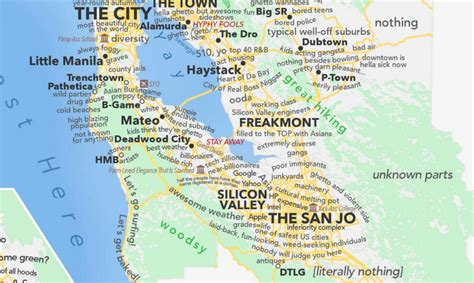 judgemental map san jose dictionary map of san francisco is actually