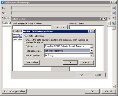 sharepoint 2010 workflow variables how to trigger a sharepoint 2010 workflow from a