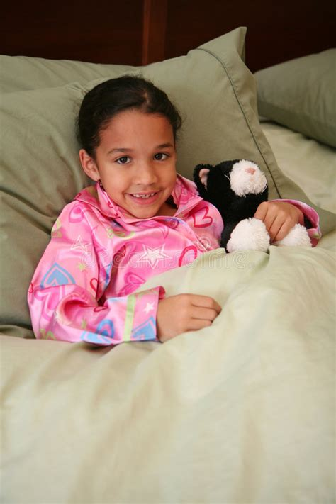 ready for bed girl ready for bed stock photos image 4611443