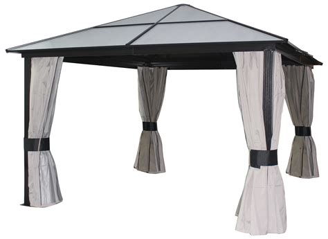 gazebo fabric kontiki shade cooling top gazebos 10 x 12