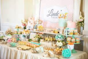 bridal shower table decoration ideas fiestar the