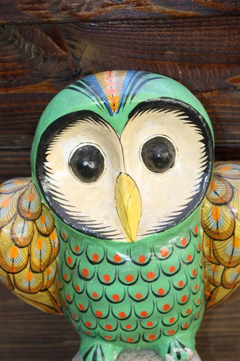 How To Make A Paper Mache Owl - paper mache owl