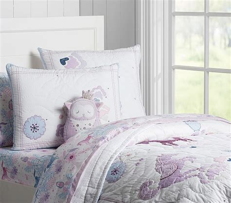 pottery barn girls bedding aria quilted bedding pottery barn kids