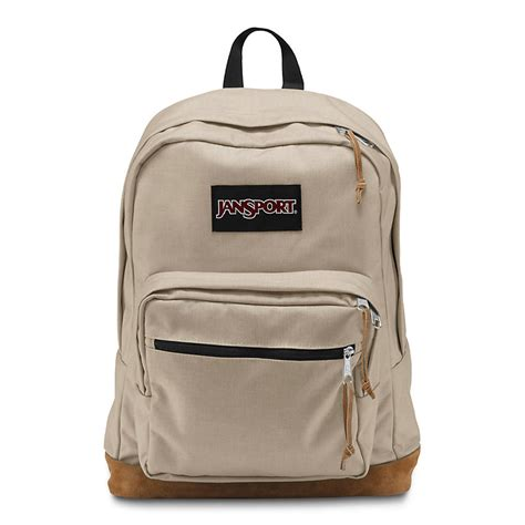 Tas Jansport Canvas Mini Bc jansport right desert beige backpack billion creation