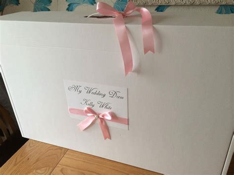 hochzeitskleid box personalised extra large wedding dress storage box with