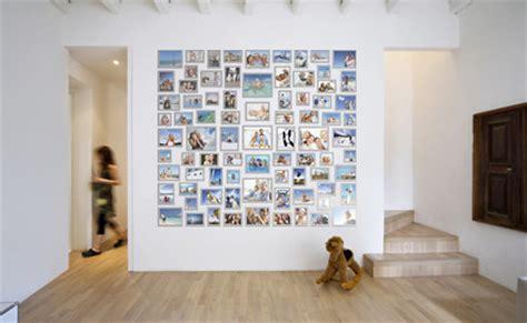 Photo Wall photo wall create a photowall with magnetic photo frames fridgi uk