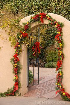mexican style christmas decoration in pinterest decoration at the entrance santa fe new mexico usa pictures new mexico