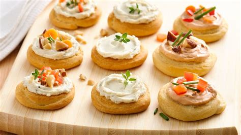 unfussy mini appetizers from pillsbury com