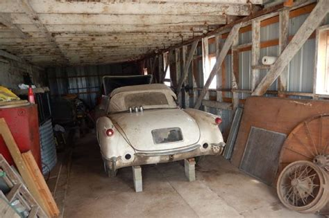 Garage Sale Finder Michigan by Two C1 Corvettes Found In Illinois Barn